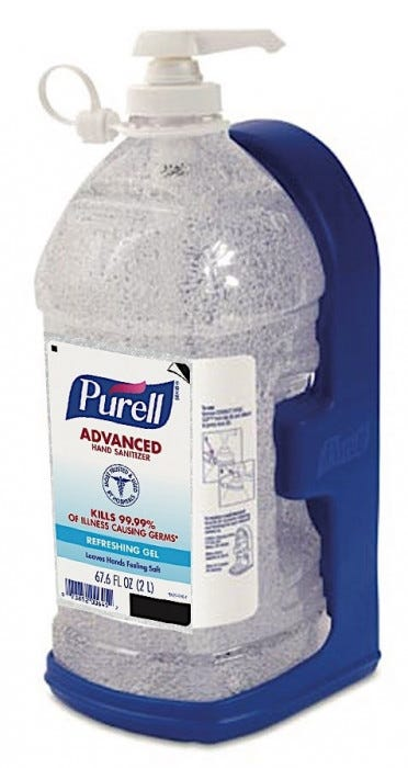 Purell Instant Hand Sanitizer 2l Pump Refill