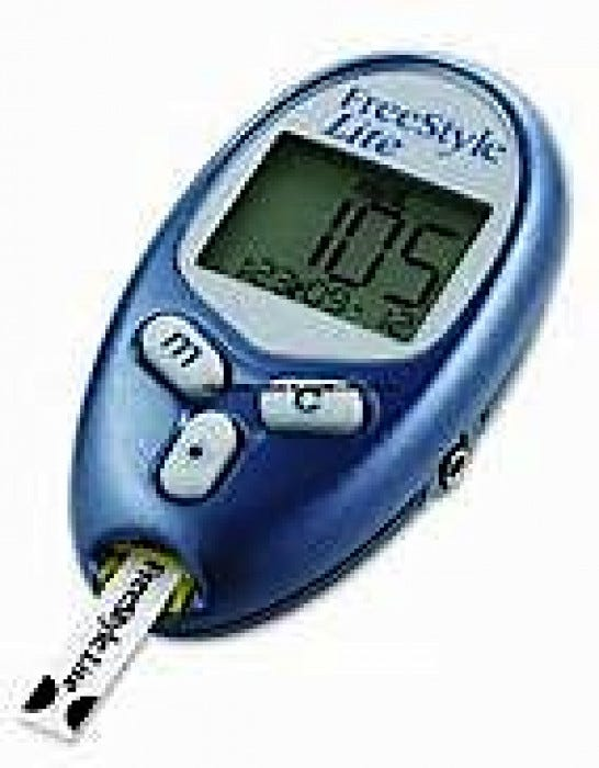 Freestyle Lite Blood Glucose Monitoring System Glucose