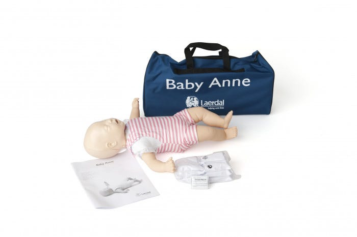 68261435ae3 Laerdal Baby Anne Manikin With Soft Pack