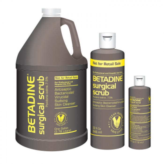 Betadine 32 Oz Surgical Scrub