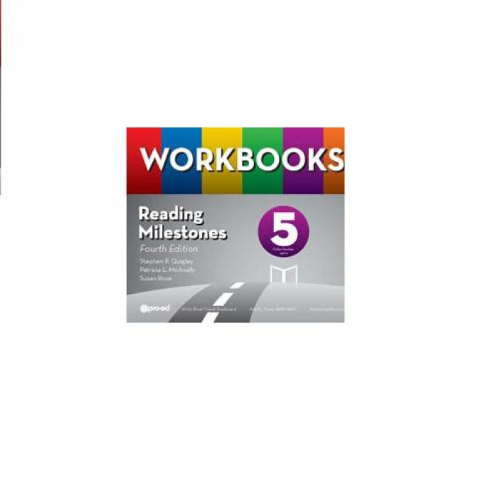 6459a789 Reading Milestones 4: Workbook Pages - Level 5 Purple | EnableMart.com
