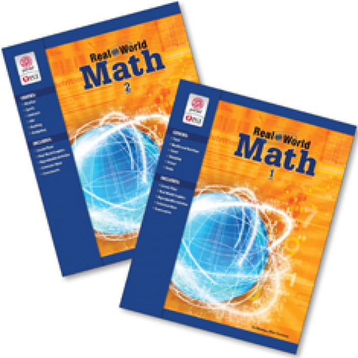 Real World Math Instruction Mathematics Subjects Learning