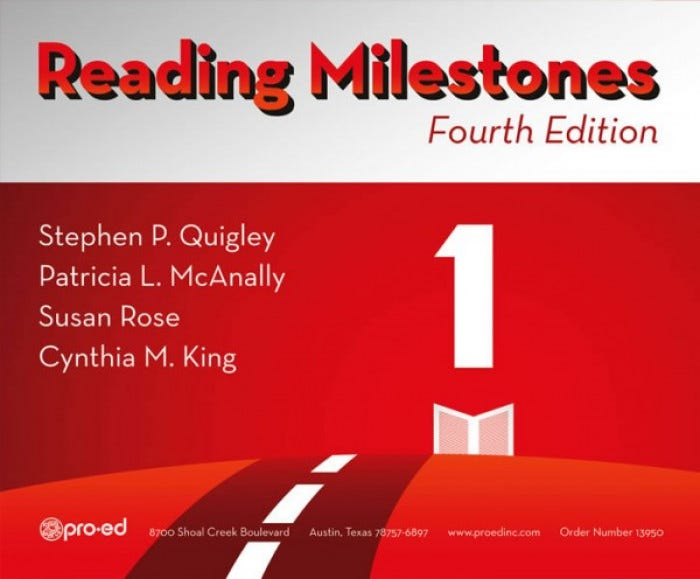 17a43fe4 Reading Milestones 4th Edition - Level 1 (Red) - Reading Milestones ...