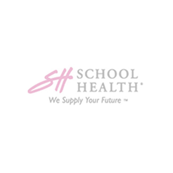 "School Health Brand AED Facility Sticker, 5""x5"""